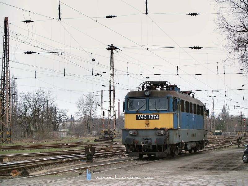 V43 1374 Rákosrendezõn fotó