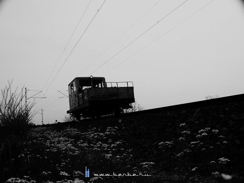 Tehervágánygépkocsi a Déli vasúti hídnál fotó