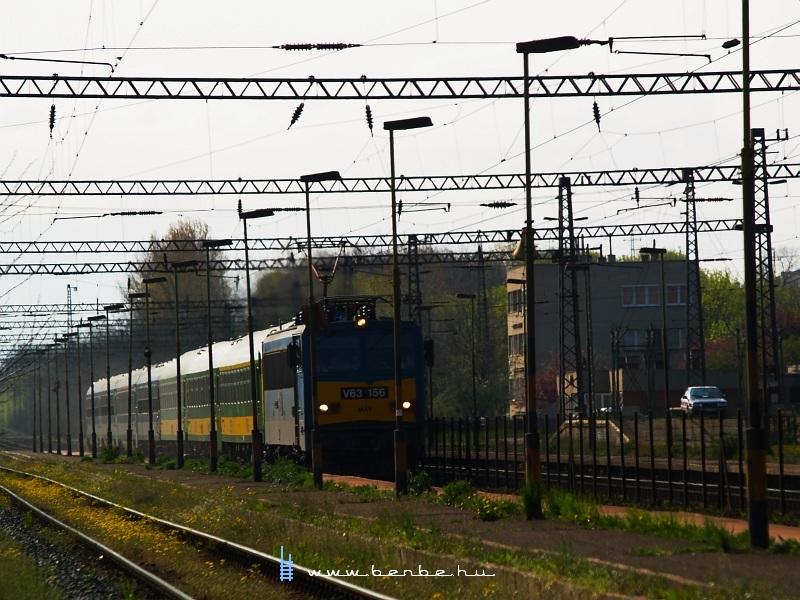 V63 156 Herceghalomban fotó