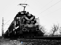 The V46 006 at the Buda bank of D�li vas�ti h�d