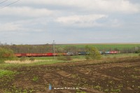 The V63 153 and V63 041 meeting near Herceghalom