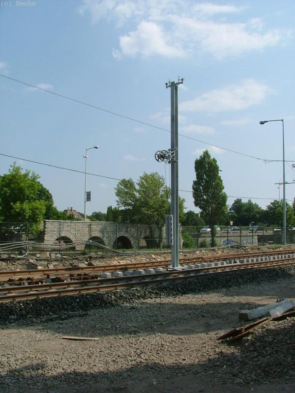 Vízvezeték vasútépítéssel fotó