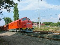 The M61 019 at Aquincum junction