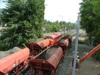 M61 019 és a rakodás pillanatai Aquincum elágazásnál
