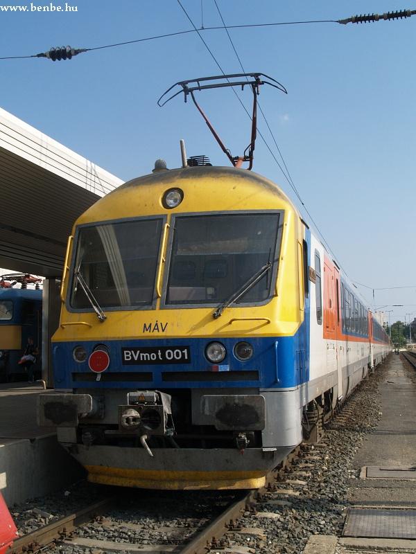 BVmot 001 a Déli pályaudvaron fotó