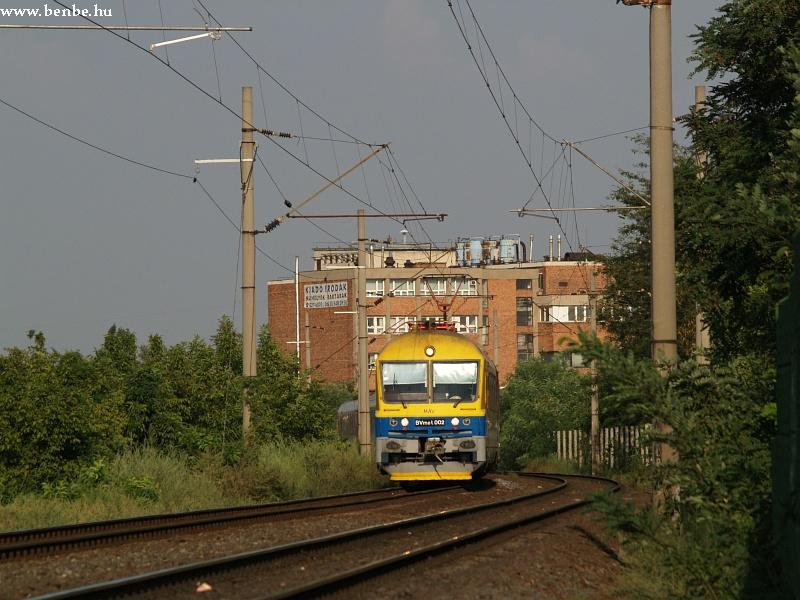 BVmot 002 Barosstelepnél fotó