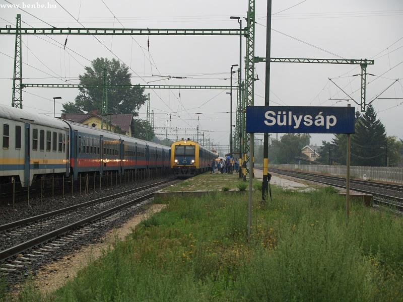 BDt 418 Sülysáp állomáson fotó