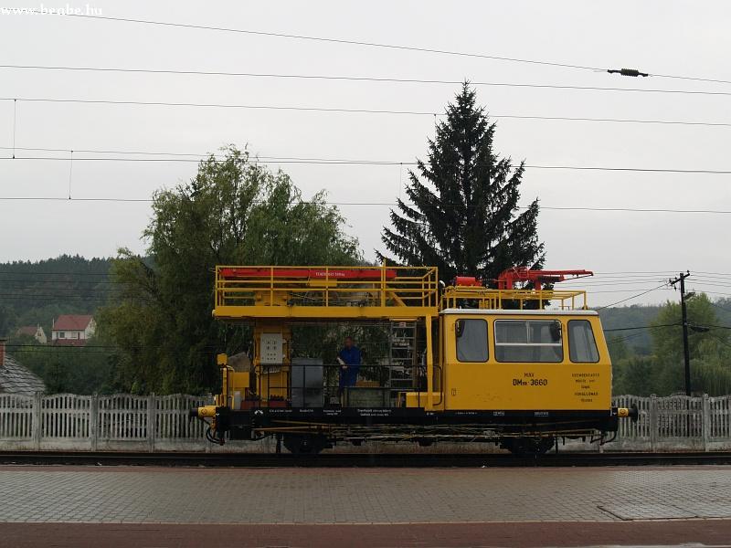 DMm 3360 számú felsõvezeték karbantartó kocsi Sülysáp állomáson fotó