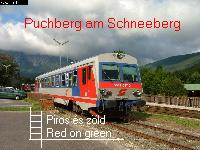 Piros s zld - Puchberg am Schneeberg s a Semmering