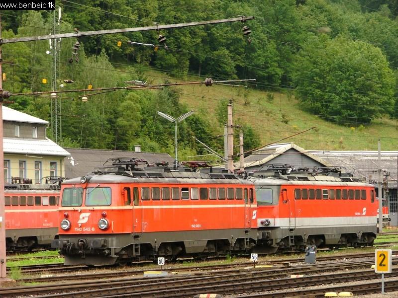 1142 542-8 Mürzzuschlag állomáson fotó
