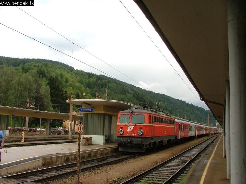 1142 535-2 Mürzzuschlag állomáson fotó