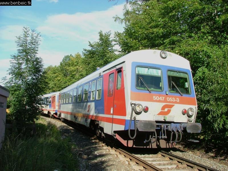 5047 053-3 és 032-7 Puchberg am Schneeberg állomáson fotó