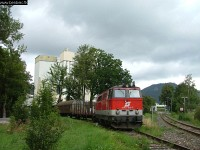 A 2143 013-7 near the Rigips Works of Puchberg