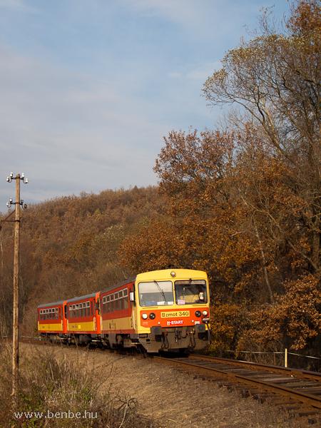 A Bzmot 340-es Berkenye és Szokolya között fotó