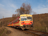 The Bzmot 340 between Berkenye and Szokolya