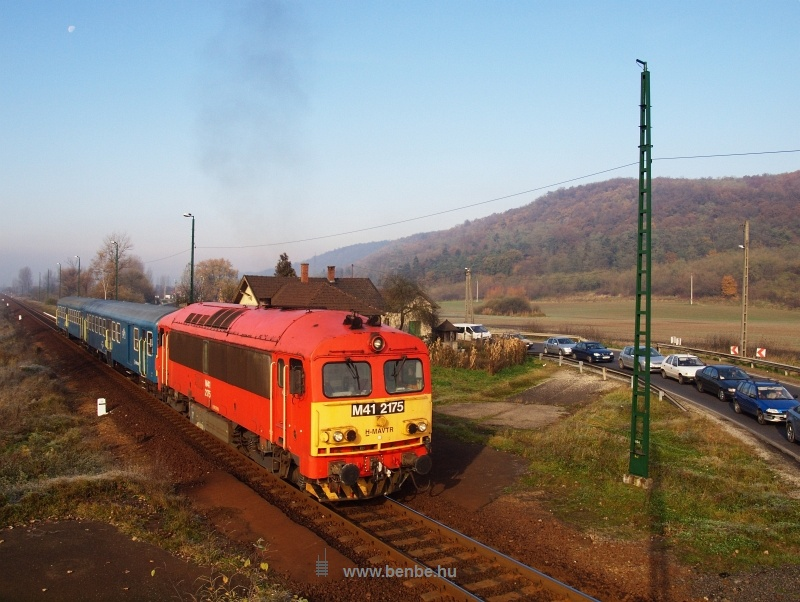 The M41 2175 at Dubicsány photo