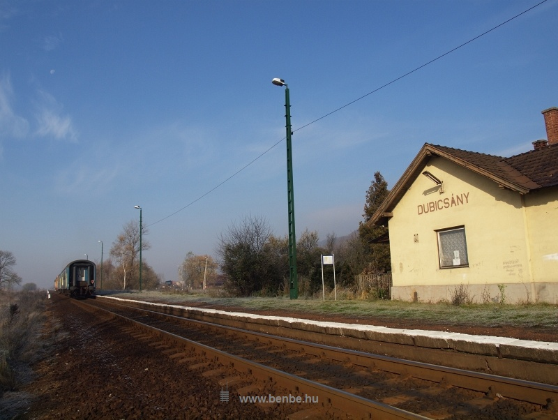 Dubicsány vasúti megállóhely fotó