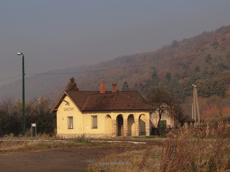 Dubicsány megállóhely épülete fotó