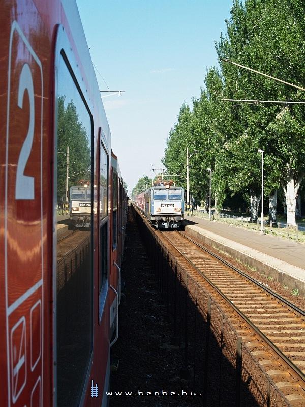 V63 029 Zamárdi felsõ állomáson fotó