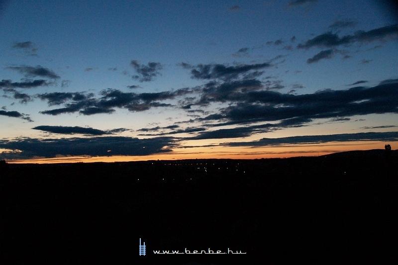 Napnyugta Keszthelyen fotó