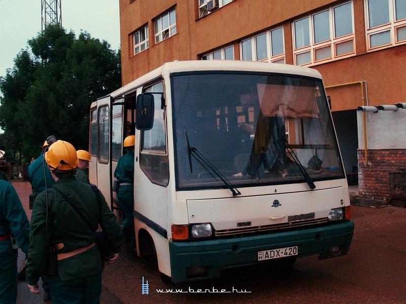 A Magyar Alumínium Zrt. bányászbusza fotó
