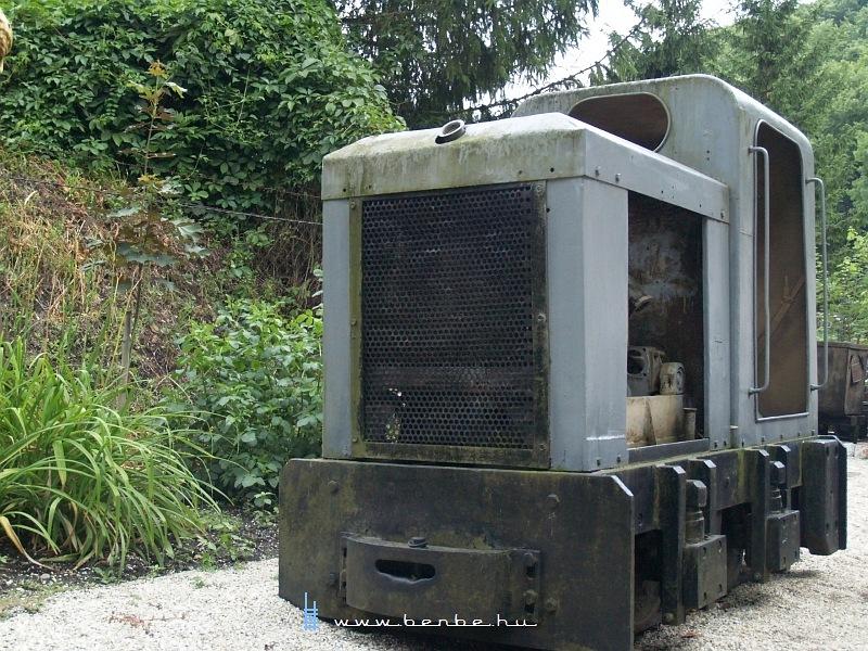 MD40 mozdony a csingervölgyi bányászati múzeumban fotó