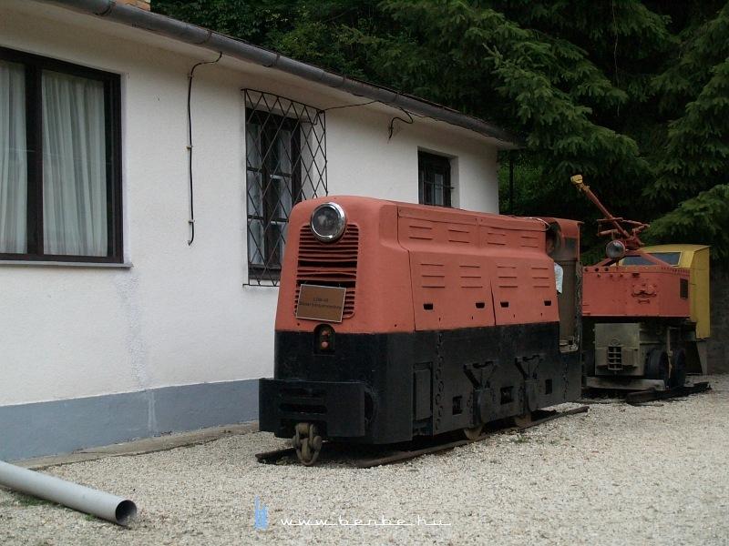BM50 bányamozdony a csingervölgyi bányászati múzeumban fotó