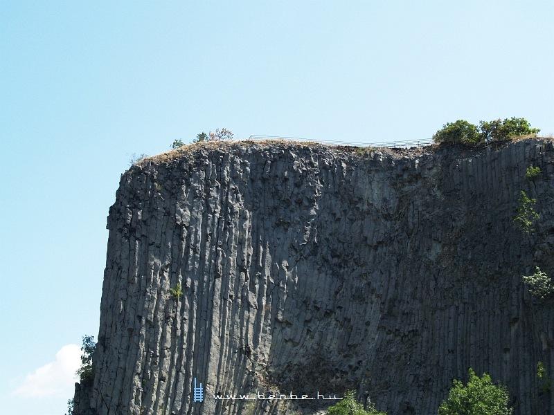 A Hegyestû geológiai bemutatóhely bazaltorgonái fotó
