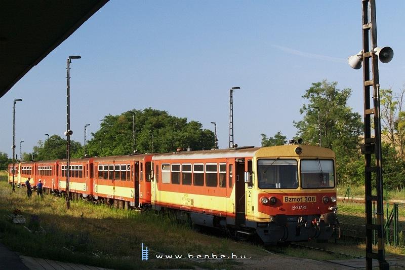 Most tényleg csapjunk a vonatok közé: Bzmot 308 Csajágon fotó