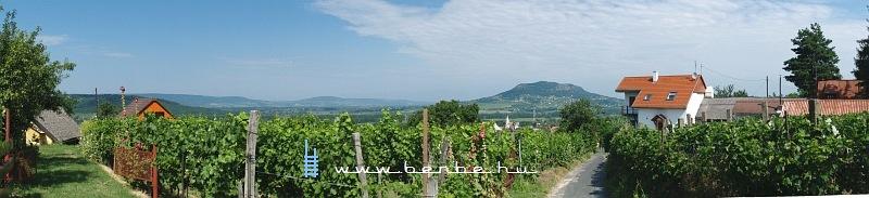 Szent György Hill as seen from the side of the Badacsony hill photo