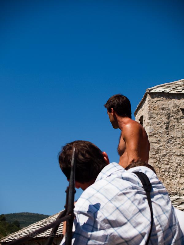 Mostar - kilátás az Öreg hí fotó