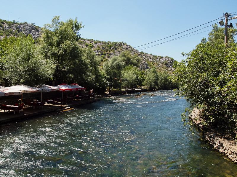 Blagaj, a Buna folyó forrás fotó
