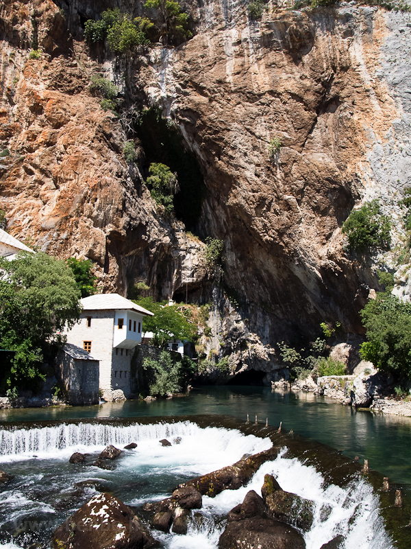 Blagaj, spring of the river Buna photo