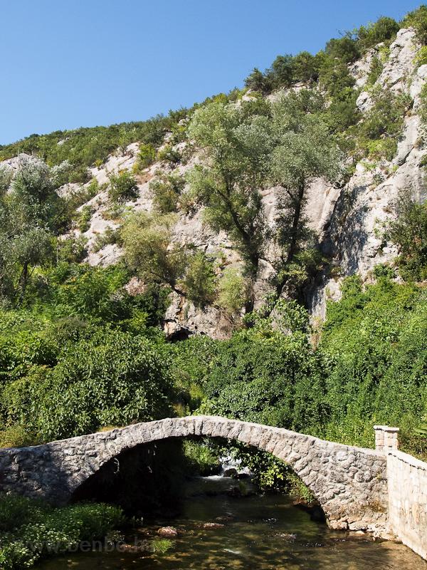 Kis híd Čapljina melle fotó
