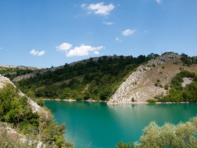 A Bilecsa-tó (Bileæko jezer fotó