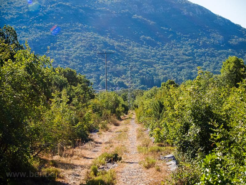 A régi kisvasút Trebinje felé fotó