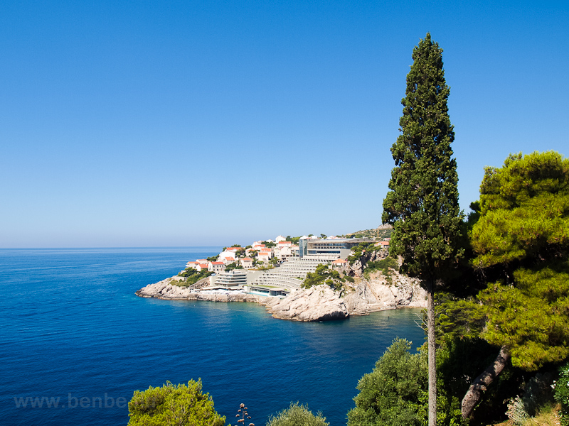 The Adriatic sea at Dubrovnik photo