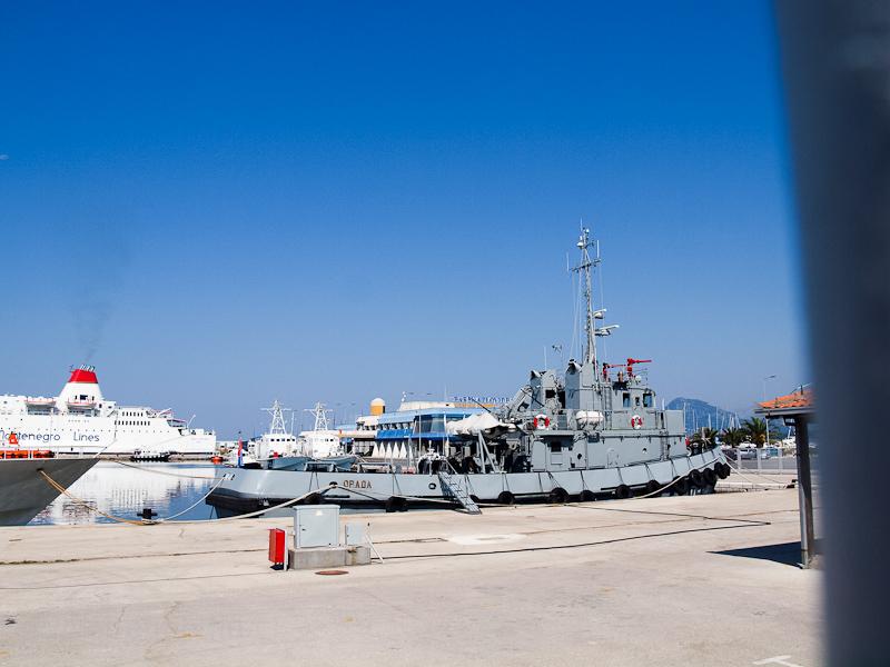 Montenegrói hadihajók Barba fotó