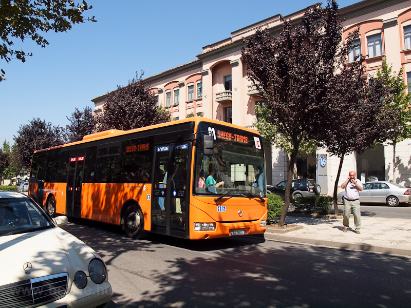 Bus in Tirana photo