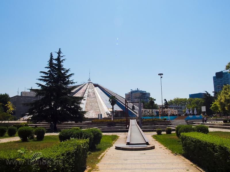 Tirana, the Pyramid of Enver Hoxha photo