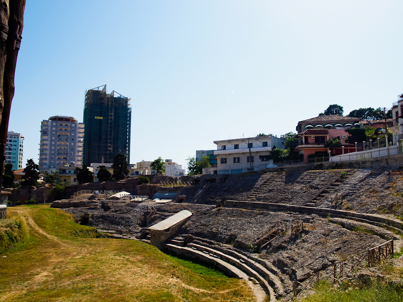 Durres, amphitheater photo