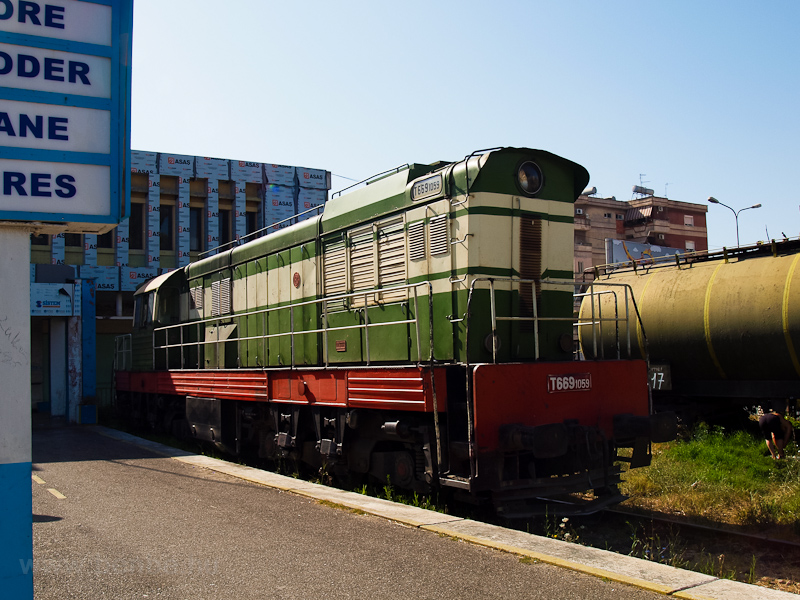 The HSH T669-1059 seen at Durres photo