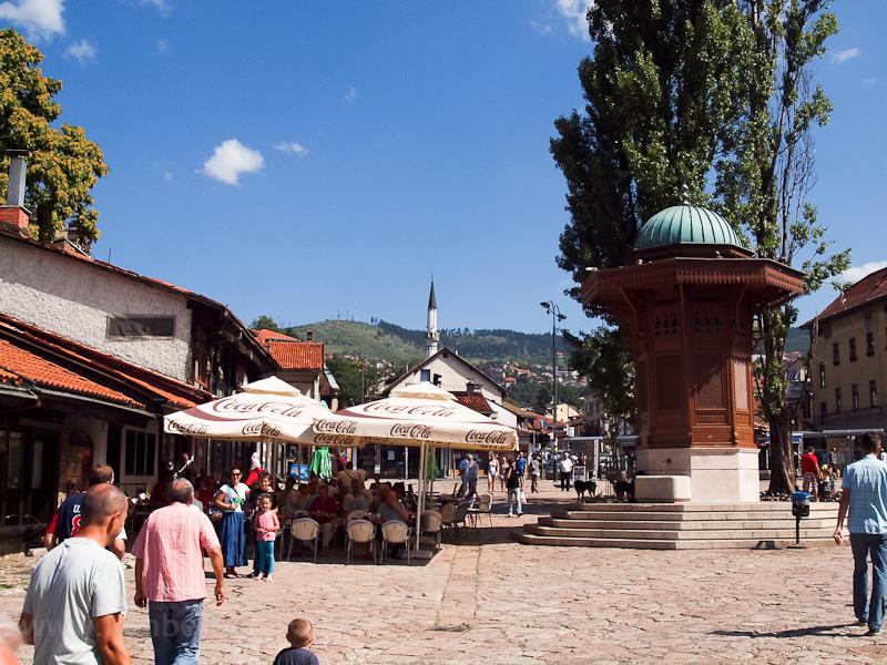 Szarajevo - a Bascarsija kö fotó
