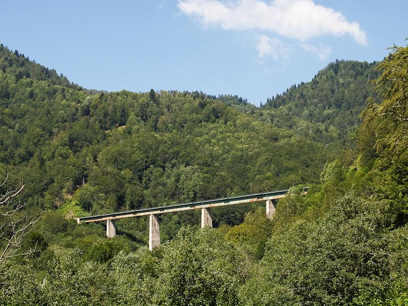 A Tara-viadukt Kolasínnál fotó
