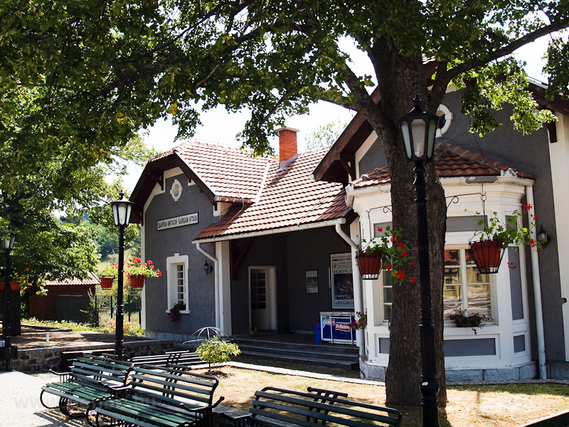 A felvételi épület Šargan-Vitasi állomáson fotó