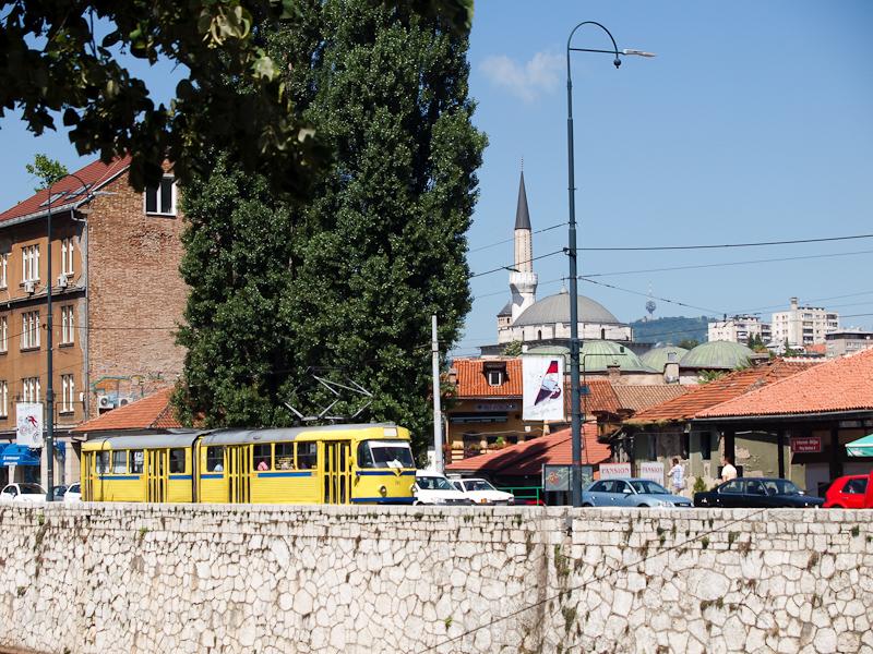 Szarajevo - csuklós Tatra K fotó