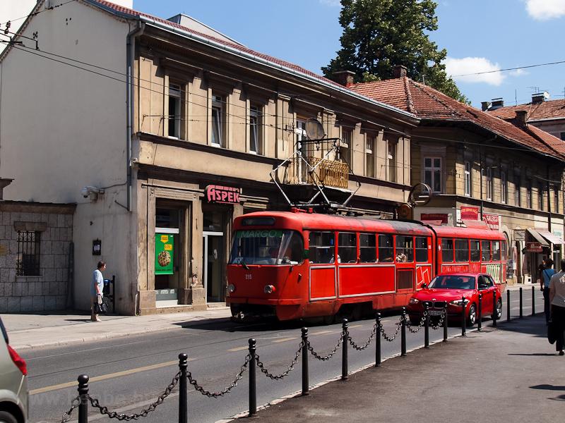 Szarajevo - Tatra K2-es vil fotó