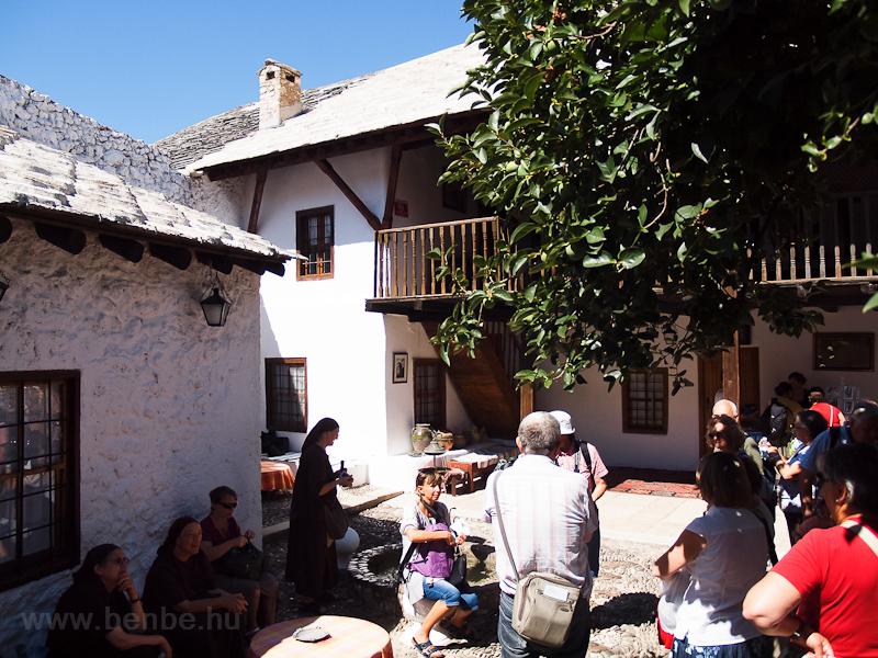 Török ház Mostarban fotó