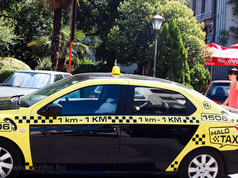 A mostari tarifa: 1 km=1 KM fotó