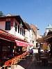 Sarajevo - restaurants at Bascarsija